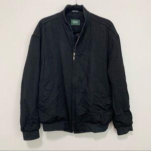 Hugo Boss Black Cashmere Bomber Jacket